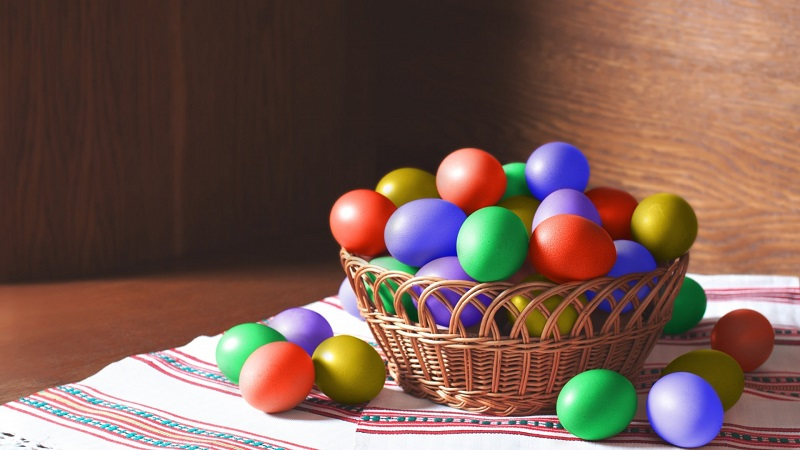 Оригинальные корзинки для пасхальных куличей и яиц своими руками