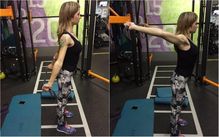 Эффективные упражнения на растяжку с эспандером
