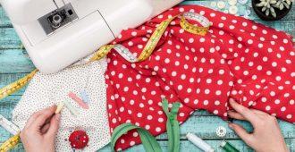 Как пришить резинку к юбке вместо пояса