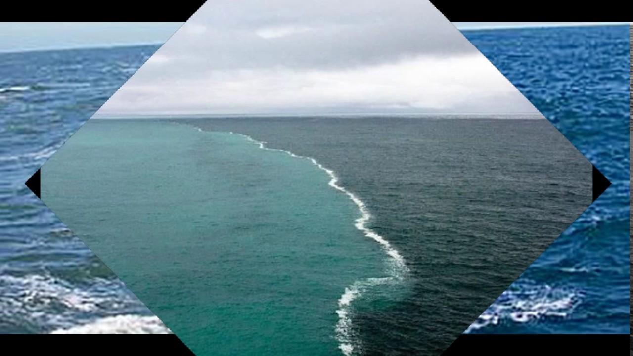 Уникальное место, где два океана встречаются, но никогда не пересекаются! Потрясающе! - Твой интернет