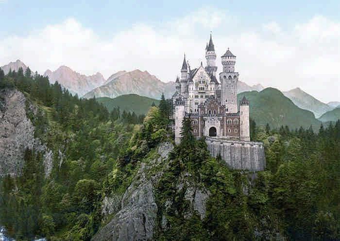 10 реальных мест, похожих на сказку