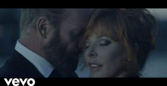 Страстный дуэт Стинга и Милен Фармер в захватывающем клипе - Твой интернет