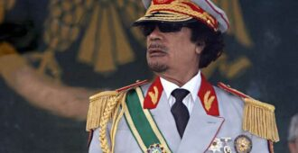 Легендарный правитель Каддафи