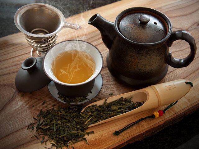 Не пейте чай после еды
