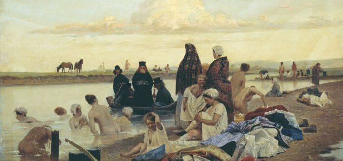 «Картина Репина «Приплыли». А автор кто?