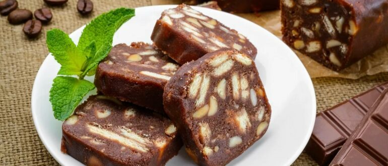 """""""Шоколадная колбаса""""  - незабываемый вкус детства"""