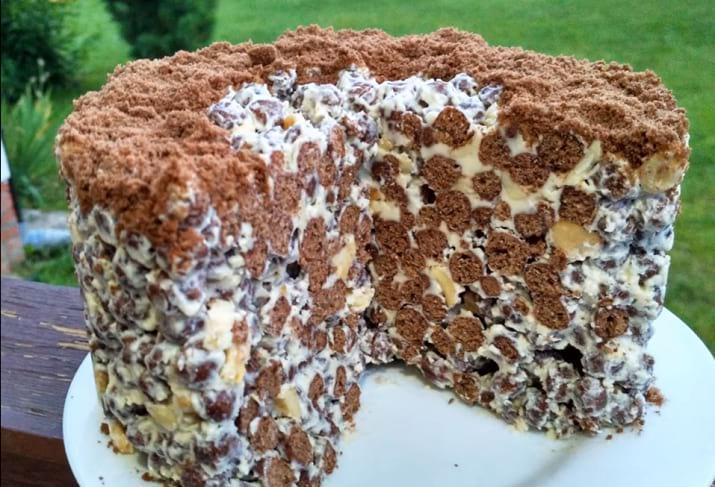 Торт без выпечки. Хитрый рецепт
