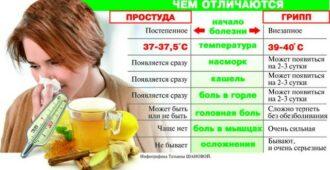 Не путайте ГРИПП с простудой. 8 основных отличий