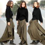 Как сшить юбку в стиле бохо