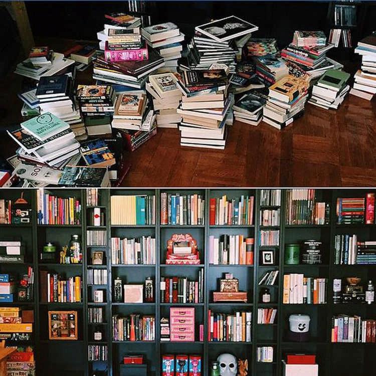 Порядок с книгами