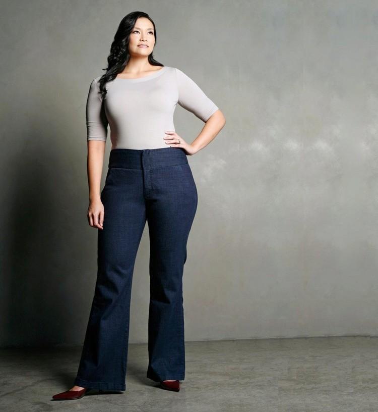6 удачных моделей джинс для полненьких девушек