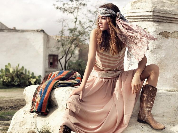 Как сшить юбку в стиле бохо за один день: пошаговая инструкция