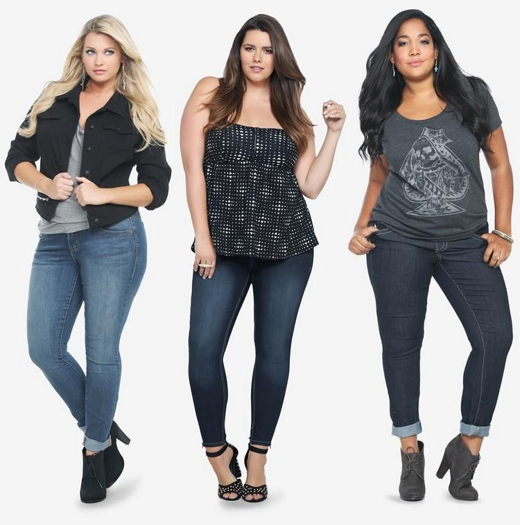 6 моделей для полненьких девушек