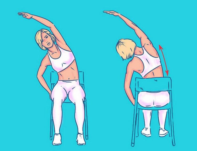 Пять упражнений для спины с эффектом массажа