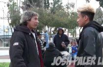 Парень дал бездомному 100 $ и проследил за ним…