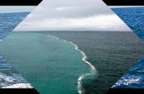 Уникальное место, где два океана встречаются, но никогда не пересекаются! Потрясающе!