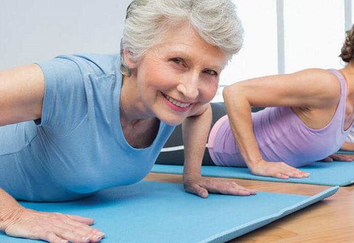 Упражнения для любого возраста без ограничений