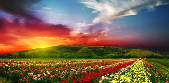 10 самых красочных и красивых мест в мире