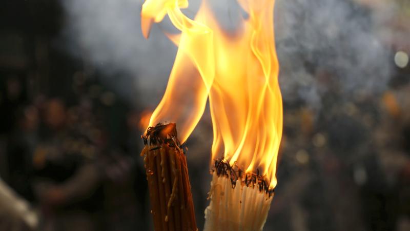 Таинство благодатного огня раскрыто?