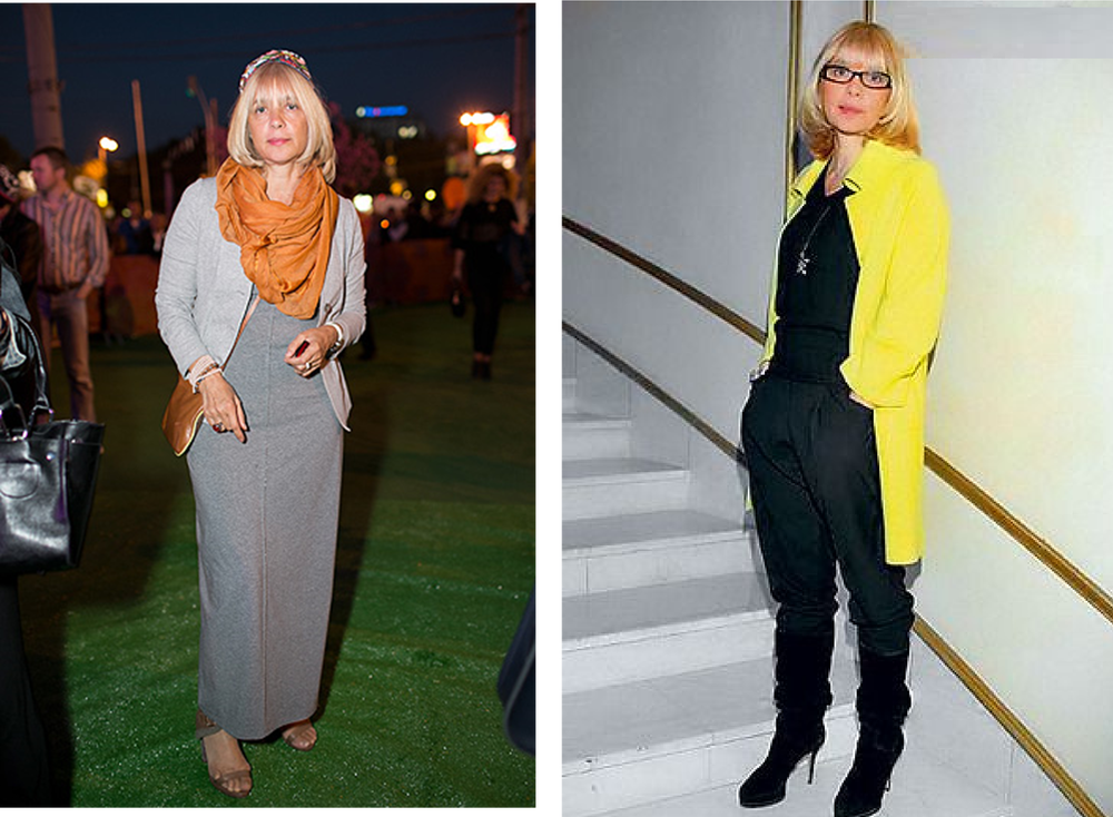 Мода для дам элегантного возраста в России