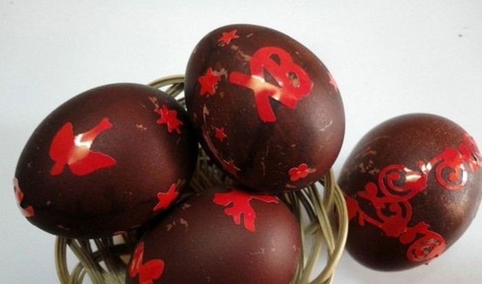 Красим яйца к празднику светлой Пасхи. Самые лучшие методы