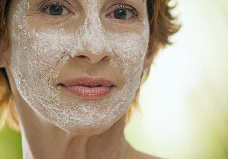 Турецкая маска для лица от глубоких морщин