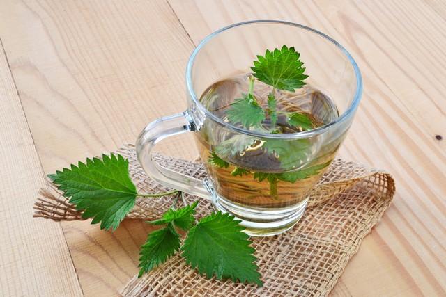 Чай из крапивы от давления, диабета, при анемии, для волос и лица