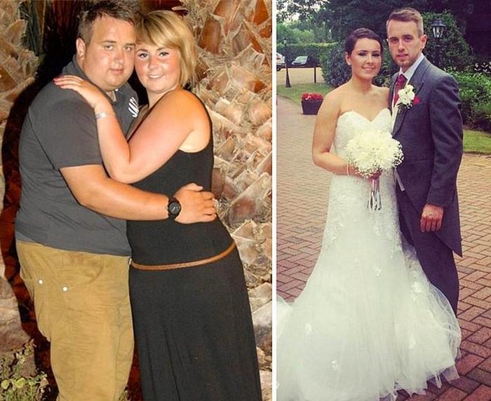 Влюбленные не хотели венчаться в таком виде. На свадьбе гости потеряли дар речи от удивления!