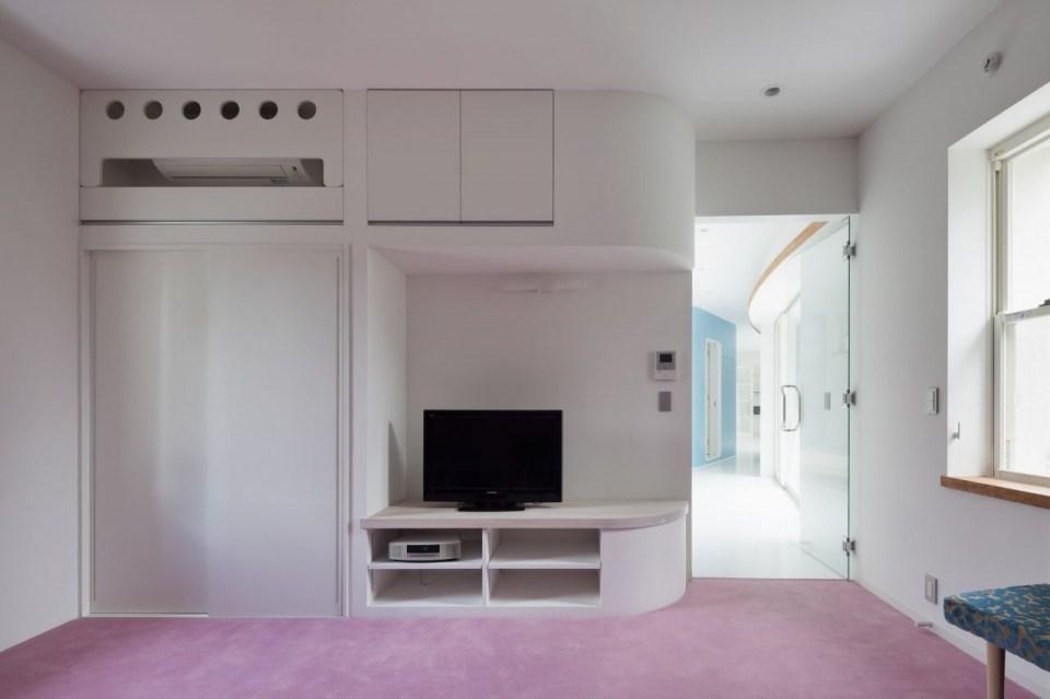 Дом с живой стеной в Японии