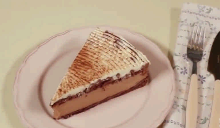 Шоколадно муссовый тортик