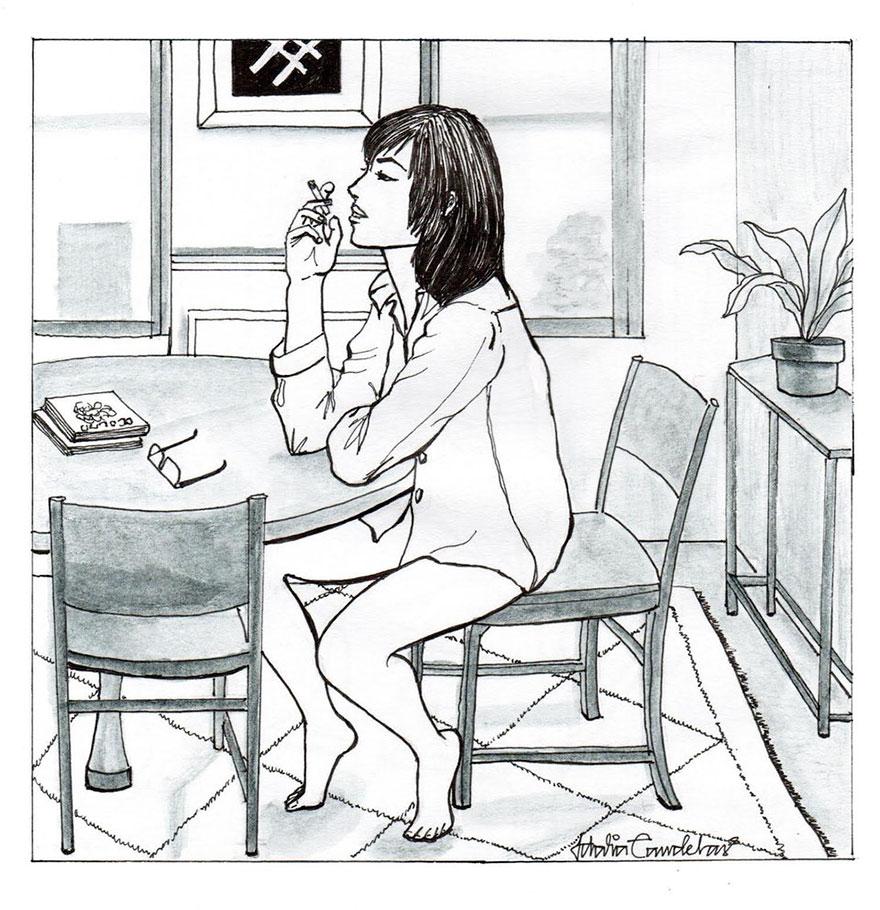 Прелести одинокой жизни глазами художника