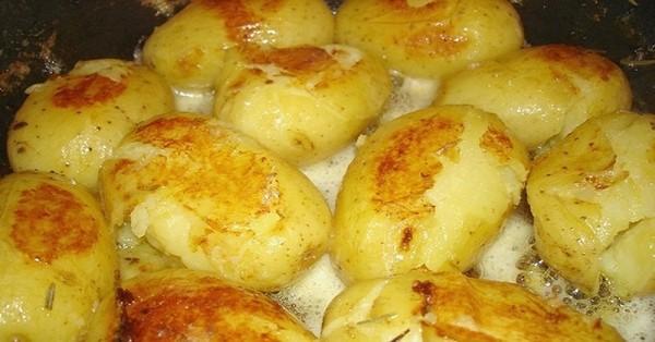 А вы готовили так картофель? Замороженная вкуснятина!
