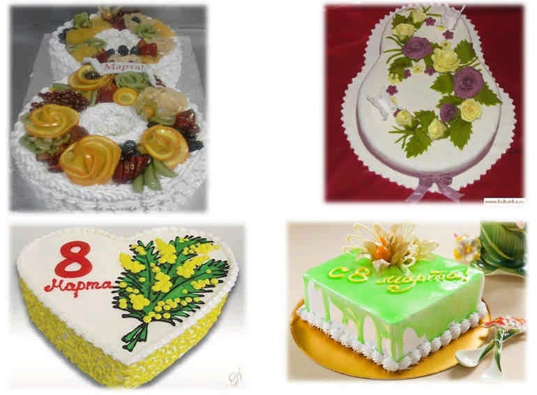 Вкусные торты на 8 марта, сделанные дома своими руками