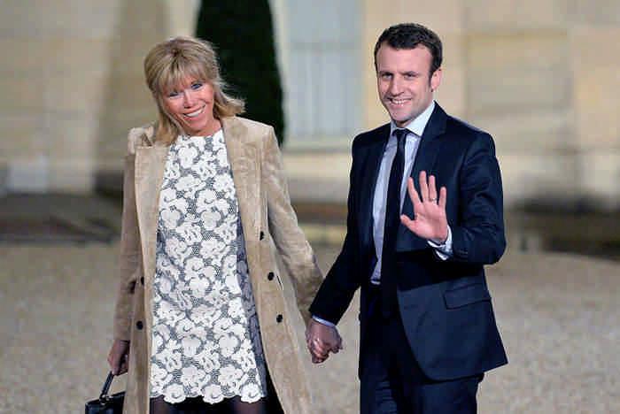 Икона стиля - первая леди Франции Бриджит Тронье - и ее история любви