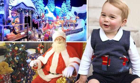 Принц Уильям передал письмо Деду Морозу