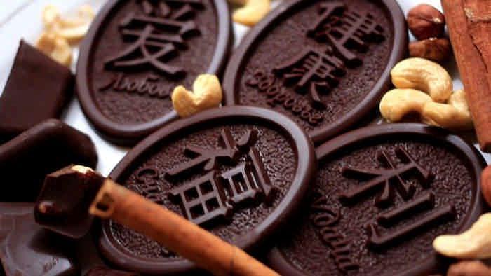 Рецепт шоколада с орехами, чтобы убрать живот