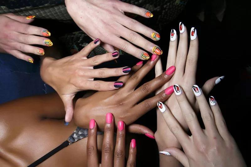 Тест - по форме ногтей можно узнать многое