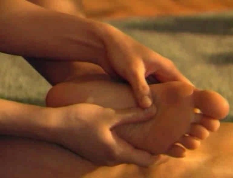 гимнастика от бессонницы - массаж стоп