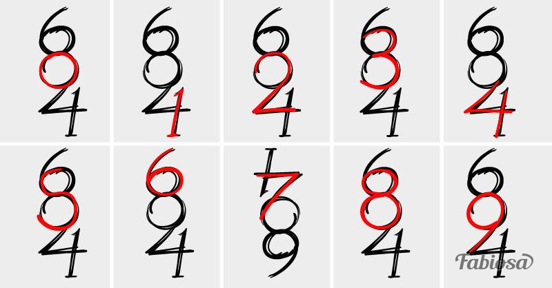 Сколько чисел вы видите на этой картинке? Ответ, скорее всего, вас удивит…