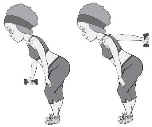 Японские упражнения с гантелями для похудения дома
